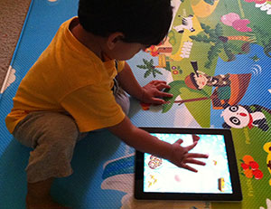 Touch interfaces should be childs play