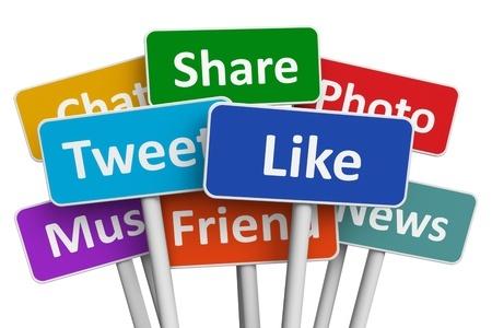 Social Media Website Integration
