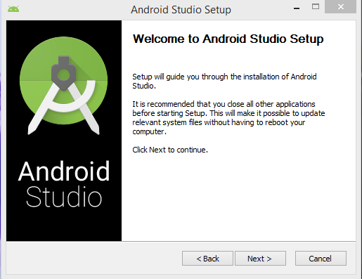 Android Studio Install